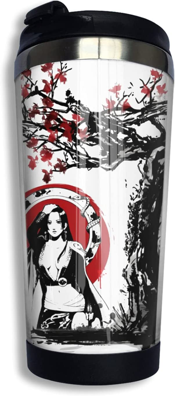 One Piece Boa Hancock Austin Mall Anime Coffee Print Cup Popular shop is the lowest price challenge 3d Thermos Mug Fash