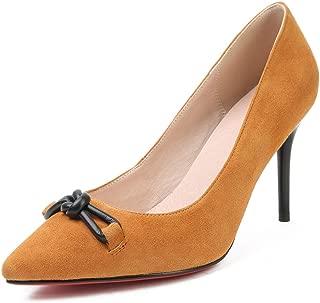 Nine Seven Women's Leather PointToe Heel Elegant