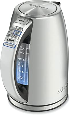 Cuisinart Stainless Steel Cordless Electric kettle - Best kitchen appliances for college students