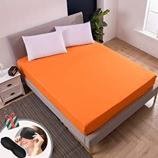 New extra profonde Drap Housse Simple Double King /& Super King Size Bed sheets