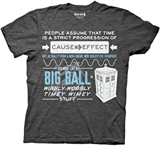 Ripple Junction Doctor Who Wibbly Wobbly Timey Wimey Tardis T-Shirt