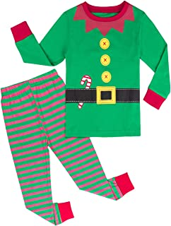 A&J DESIGN Kids Boys & Girls Christmas Pajamas Sets