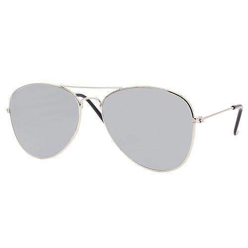 2ca027badb4e2 Cheapass Sunglasses Pilot Sunglasses Metal Mirrored Women Men Variation