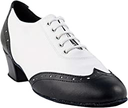 "Women's Ballroom Dance Shoes Salsa Latin Practice Shoes 2008EB Comfortable-Very Fine 1.5"" [Bundle of 5]"