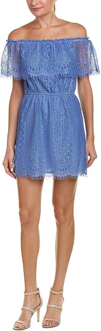 BB Dakota by Steve Madden Women's Zinnia Off The Shoulder Lace Dress