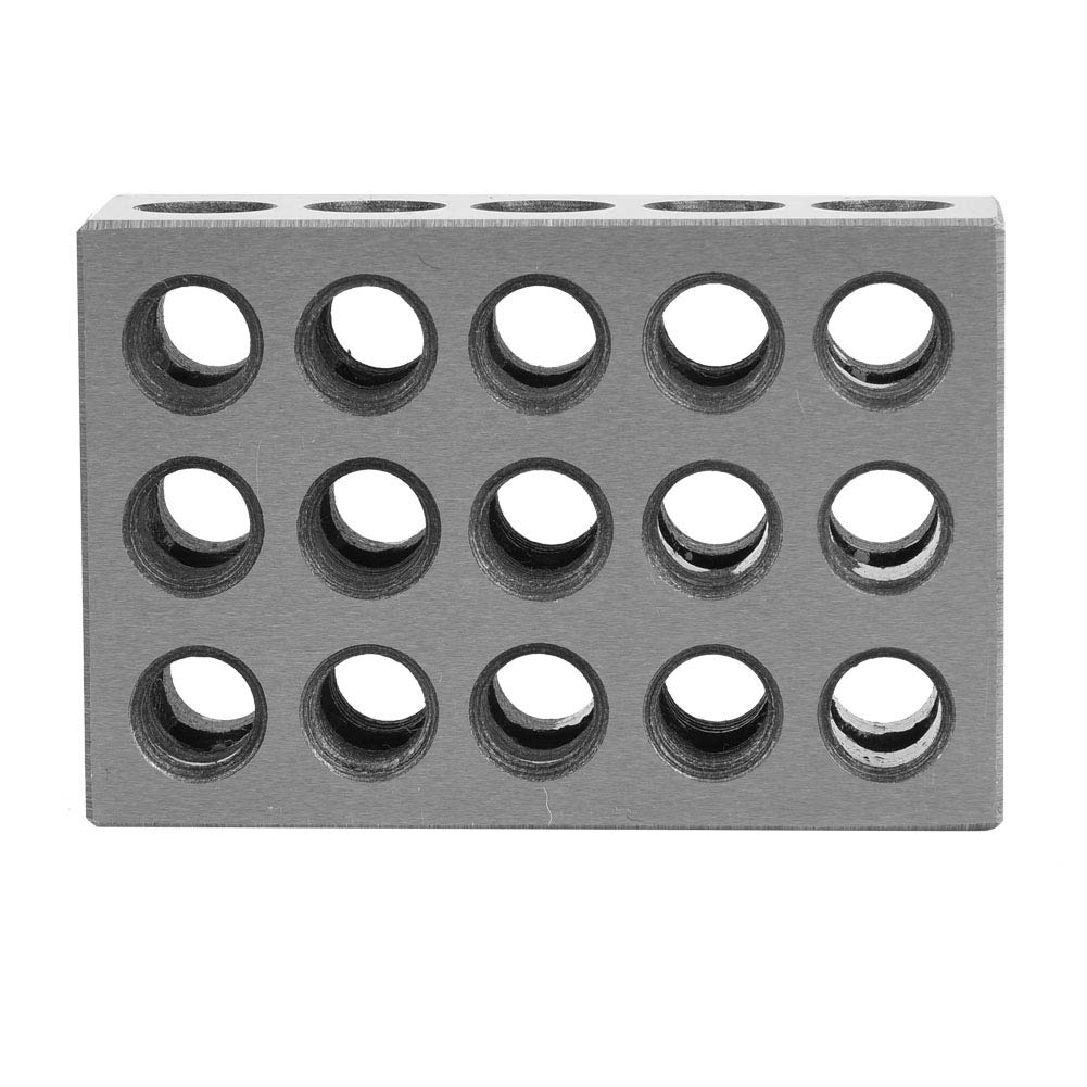 23 Holes Clamping Block Matched Max 90% OFF Pair Fashionable I 2pcs for 25x50x75mm