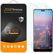 (3 Pack) Supershieldz for Huawei P20 Tempered Glass Screen Protector, Anti Scratch, Bubble Free