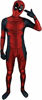 Kids Superhero Onesie Spandex Cosplay 3D Costume Halloween Full Bodysuit