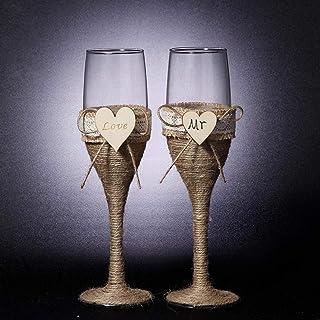 Amazon.es: copas de vino romanticas