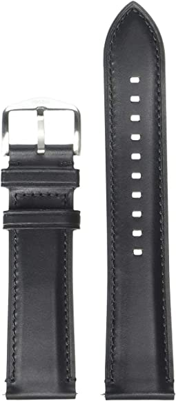 S221254 Silver Black Leather