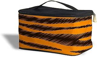 Tigger Stripes Winnie The Pooh Inspired Cosmetics Storage Case - Makeup Zipped Travel Bag