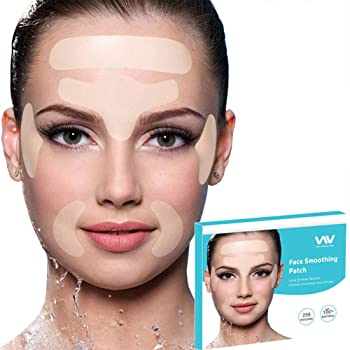 Amazon Com Facial Wrinkle Remover Strips Set Of 256pcs Facial Patches Reusable Face Tape Smoothing Wrinkle Patches For Reducing Forehead Eye And Around Mouth Upper Lip Wrinkles All In One Wrinkle