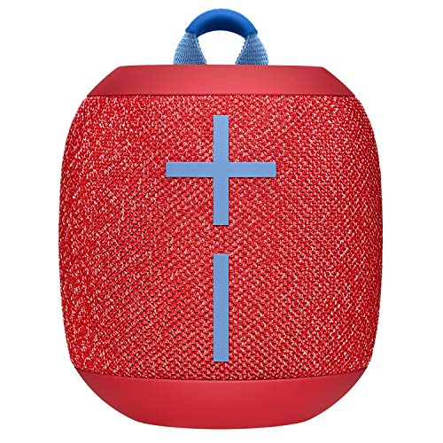 Ultimate Ears Wonderboom 2 Altoparlanti Bluetooth Wireless Portatili, Suono 360°, Bassi Potenti, Outdoor Boost, Impermeabile, Accoppia 2 Speaker per True Stereo, Batteria 13 ore, ‎Rosso