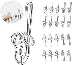 Easy-shadow 100 pi/èces crochets /à rideau faltengleiter poulies patins 8 mm pour faltenband faltenhaken t/ête galon fronceur compatible avec les rideaux voilages gardinenbretter rail de rideaux blanc