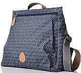 PacaPod Lewis Navy Tile Design-Baby Wickeltasche-Luxus Navy Muster Messenger 3in 1Organisieren System mit Cabrio Rucksackgurte