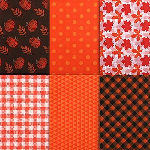 Naler 60 Hojas de Papel de Seda para Envolver Regalos Embalaje Papel Día de San Valentín Navidad Graduarse Thanksgiving DIY Manualidades (6 Estilos, 35 x 50 cm)