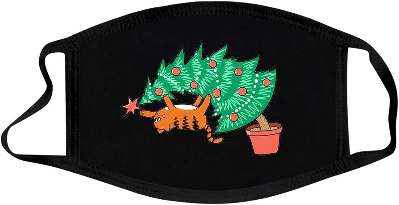 Marxways/_ 1//3//5er Pack 3-lagiger Weihnachten Mundschutz Weihnachtsmann Cartoon Dinosaurier Dehnbar Einstellbar Waschbar Weich Atmungsaktive Staubdicht Winddicht Bequeme Sanft Mundbedeckung