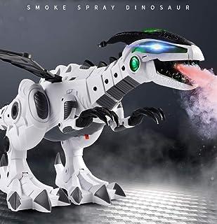 Children's Large fire-Breathing Electric Dinosaur Toy Mechanical Dragon Simulation Animal Remote Control Tyrannosaurus Int...
