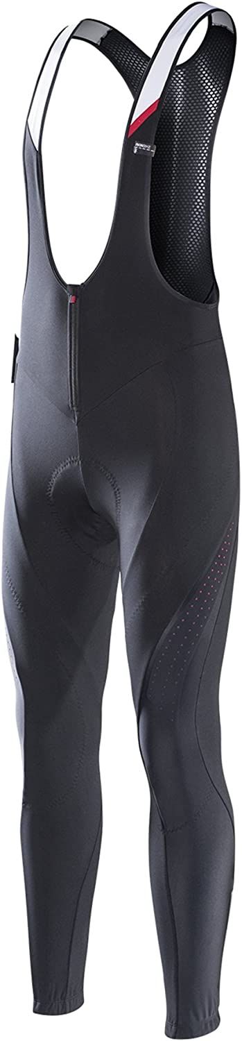 RION Pro Cycling Pants Men's Winter Thermal Padded Bib Tights