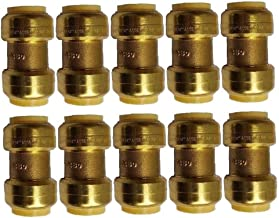 Messing Tuinslang Tap Connector, 10 stks Tuinslang Connector Set, Slang Waterstroom Connector voor Tuinieren, Home Waterin...
