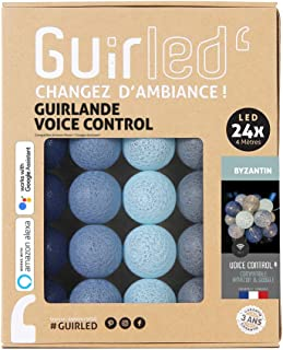 Guirlande lumineuse wifi boules coton LED USB - Commande Vocale - Maison connectée - Amazon Alexa & Google Assistant - Ada...