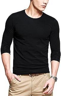 Neonysweets Mens Long Sleeve T Shirts Crew Neck Tops Tee