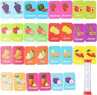 Tomaibaby Baby Training Match Kaarten Fruit Herkenning Kaarten Geheugen Matching Kaartspel Educatieve Woorden Leren Montes...