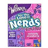 Wonka Nerds Grape Strawberry Candies -36 Packs