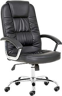 T-Lovendo TLV9947H 加垫办公椅,黑色,1.20 x 51 x 51 厘米