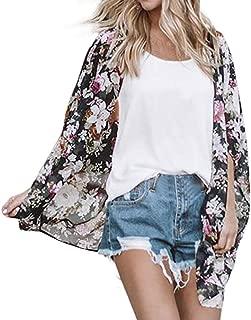 Kimono for Womens, FORUU Fashion Cover Blouse Tops Print Beach Smock Cardigans