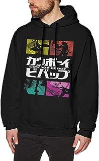 Cowboy Bebop Anime Sweatshirt for Men Hoodies Black
