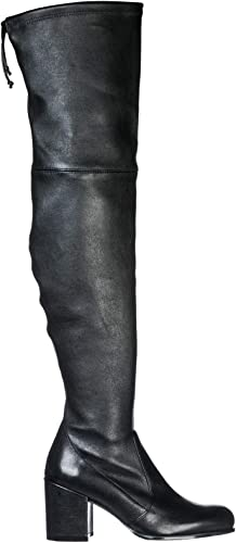 Stuart Weißzman Damen Wildleder mit Absatz Stiefel Stiefel Schwarz