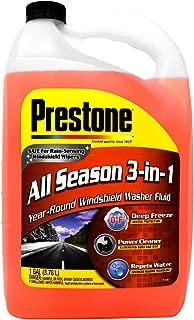 Prestone All Season 3-in-1 Year Round Windshield Washer Fluid 1 Gallon