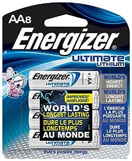 Energizer L91BP-8 AA Lithium Batteries, 8 Count (B0000DC4EL) | Amazon price tracker / tracking, Amazon price history charts, Amazon price watches, Amazon price drop alerts