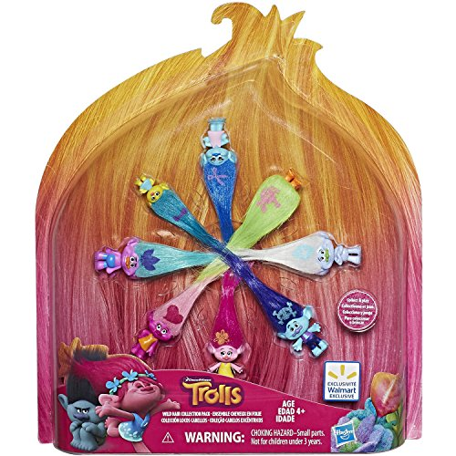 DreamWorks Trolls Wild Hair Collection Pack - 8 figures