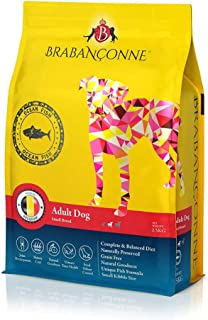 ブラバンソンヌ 小型犬の成犬用グレインフリードッグフード オーシャンフィッシュ 2,5 kg