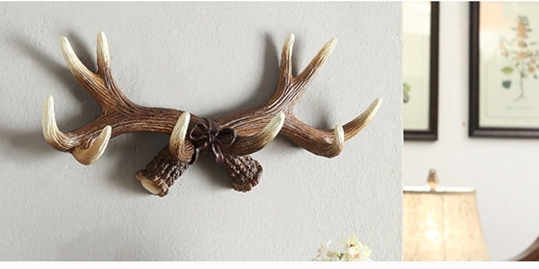RFJJAL Animal Pattern Hooks, Original Resin Coat Rack, Dark, Multi-Hooks