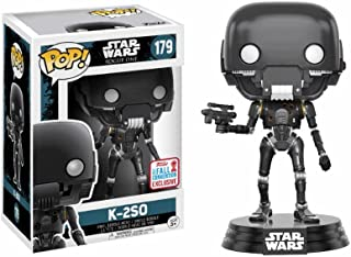 Funko Pop! Star Wars: - Battle Damaged K-2So Fall Convention Exclusive Collectible Figure