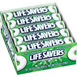 LIFE SAVERS Wint-O-Green Mints Rolls Single Size .84 Ounce 20-Count Box