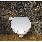 Saniclean - Abattant de Toilette siège WC Japonais lavant Non Electrique First