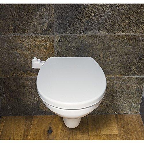 Abattant WC Japonais sans /électricit/é Couverture de Toilette Intelligente Bidet Nettoyeur de Toilettes Assis avec Dual Nozzle Pression deau Ajustable Self Cleaning