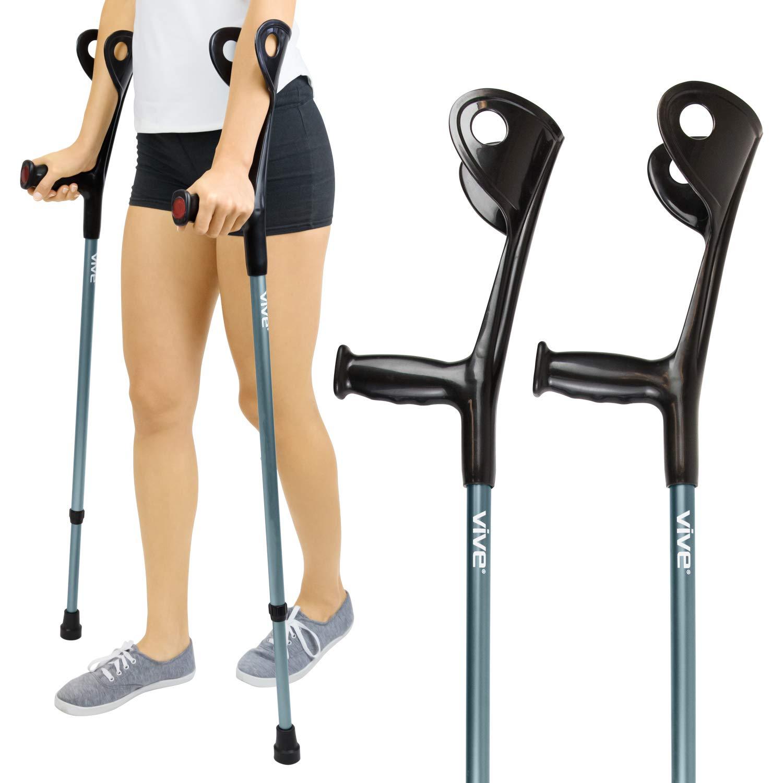 Forearm Crutches Vive Pair Lightweight