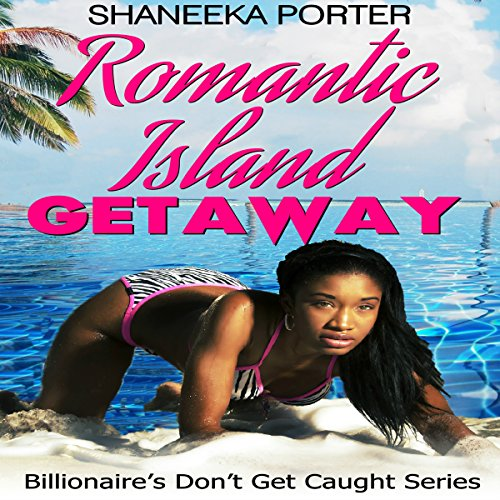 Romantic Island Getaway audiobook cover art