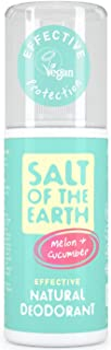 Salt Of The Earth Melon & Pepino - Desodorante, 100 ml