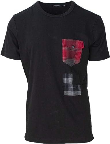 Antony Moraño Hombre MMKS01349FA100144negro negro Algodon T-Shirt