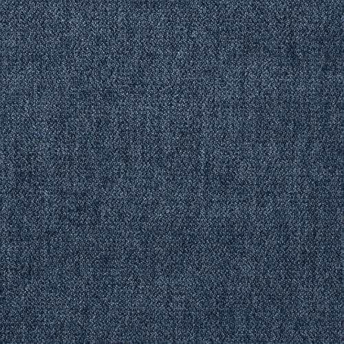 intessutoitalia Tessuto per divani, Rivestimento arredo Imbottito, sedie (140 cm x 100 cm=1 unità) Bronx in 22 Varianti di Colore (Bronx Jeans)