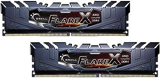 G.Skill F4-3200C16D-16GFX Flare X - Módulo de Memoria para AMD Ryzen (16 GB, 2 x 8 GB, DDR4, 3200 MHz, 288-pin DIMM)