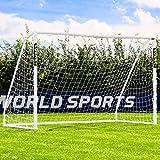Net World Sports Forza Fußballtore - das Beste Tor bei jedem Wetter -7 Größen (3m x 2m mit Klicksystem)