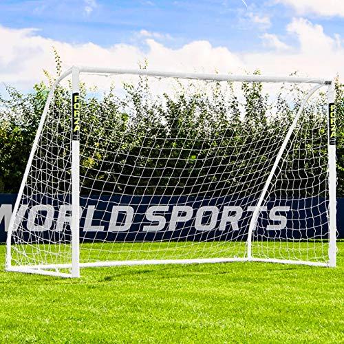 Net World Sports Forza Match Fußballtore – das Beste Tor bei jedem Wetter – 5 Größen (3m x 2m)