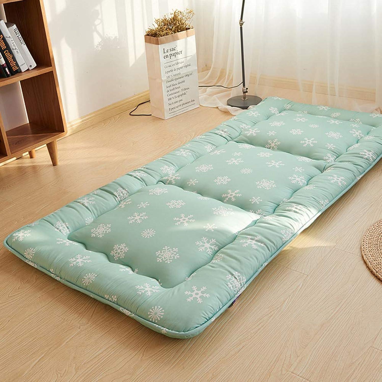 Padded Tatami Floor mat Futon Mattress,Floor Sleeping pad mat Japanese futon Mattress Topper Matt mat for Student-B 90x200cm(35x79inch)